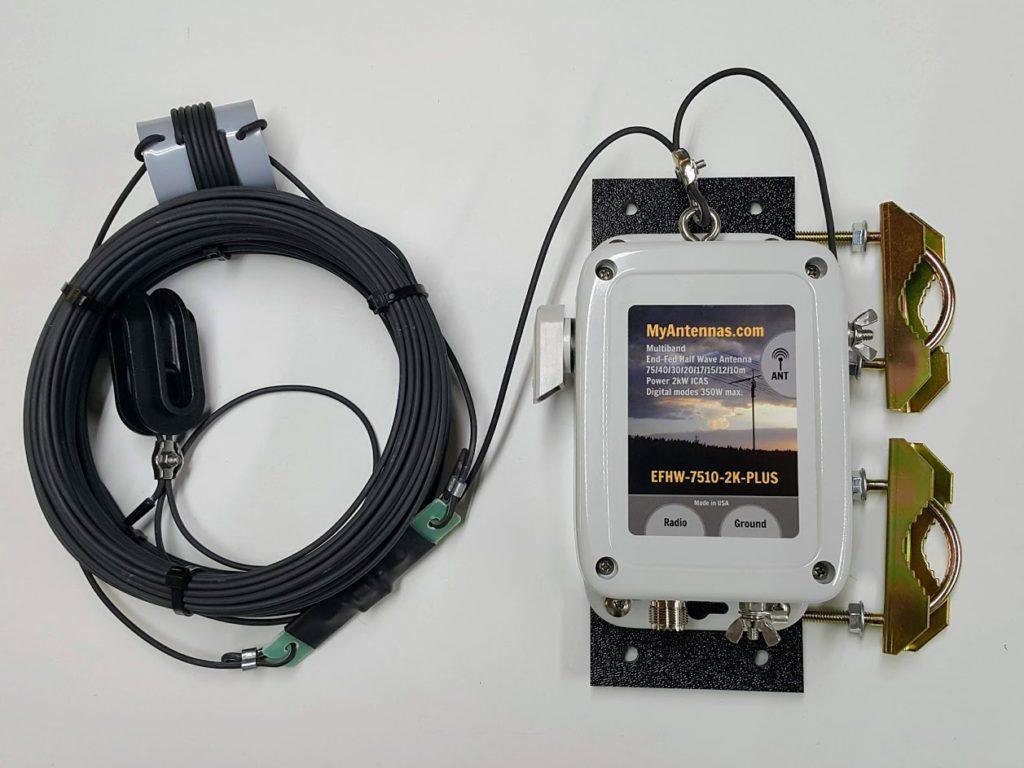 EFHW-7510-2K-PLUS antenna